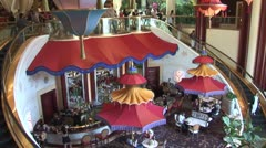 WorldClips-Wynn-Grand Hall-tilts Stock Footage