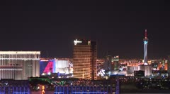 WorldClips-Wynn-Stratosphere-ws-zoom Stock Footage