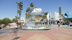 Universal Studios, Hollywood, California, USA - stock footage