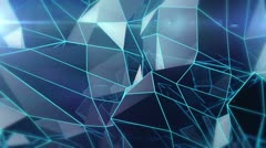 Triangle - New - Background and Lens Flare - stock footage