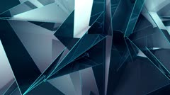 Triangle - New - Right on Top Element - stock footage