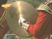 Stock Video Footage of Close up on Cymbals being played
