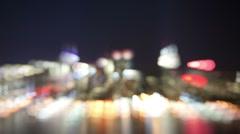 NYC skyline wild timelapse Stock Footage
