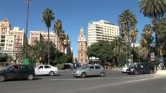 WorldClips-Malaga Traffic-ws-zooms Stock Footage