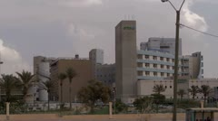 Beer Sheva Soroka hospital 2 Stock Footage