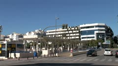 WorldClips-Puerto Banus Convention Center-zoom Stock Footage