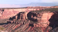 LP Colorado Monument 024b Stock Footage