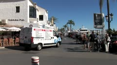 WorldClips-Puerto Banus Pub-ws Stock Footage