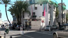 WorldClips-Puerto Banus Retail Stores-pans Stock Footage