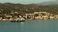 WorldClips-Spanish Coatline-Freighter-xws-zoom Stock Footage