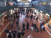 Stock Video Footage of Hamburg Trainstation II - Trains and Travel Element