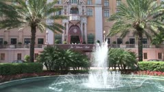 WorldClips-Biltmore Arrival-zoom Stock Footage