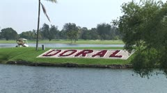 WorldClips-Doral Cart Stock Footage