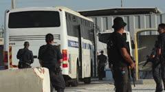 Palestinian Israeli Prisoner Swap Deal Stock Footage