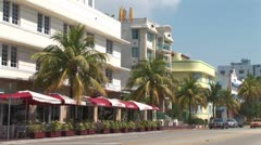WorldClips-SoBe Cafe Morning Stock Footage
