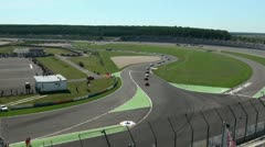 Stock Video Footage of Eurospeedway (with sound) 20110903 110713