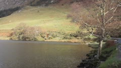 Crummock water uk lakes Stock Footage