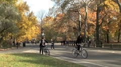 WorldClips-Central Park Daniel Webster Plaza-xws Stock Footage
