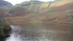 Crummock water uk lakes Stock Footage