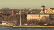 WorldClips-Ellis Island-POV Stock Footage
