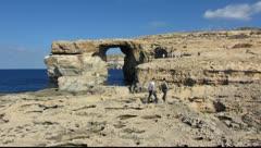 Gozo island 3 Stock Footage