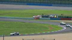 Stock Video Footage of Eurospeedway (with sound) 20110903 111108