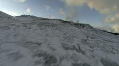 Eruption Aerial 2 - stock footage