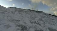Eruption Aerial 2 Stock Footage