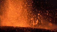 Eruption 5 - stock footage