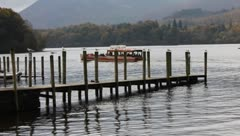 Boat trips uk lakes - stock footage