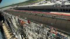 Stock Video Footage of Eurospeedway (with sound) 20110903 112748