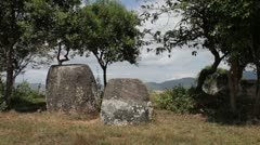 The Plain of Jars, Laos Stock Footage