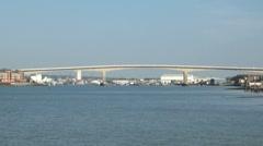 Itchen Bridge Southampton Stock Footage