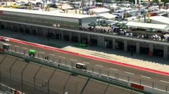 Stock Video Footage of Eurospeedway (with sound) 20110903 112930