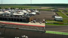 Stock Video Footage of Eurospeedway (with sound) 20110903 113005