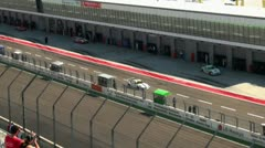 Stock Video Footage of Eurospeedway (with sound) 20110903 113041