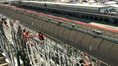 Stock Video Footage of Eurospeedway (with sound) 20110903 113124