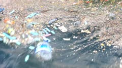 Water Pollution - stock footage