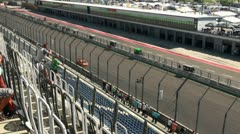 Stock Video Footage of Eurospeedway (with sound) 20110903 114301