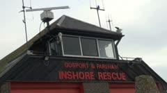 Gosport Inshore Rescue Stock Footage
