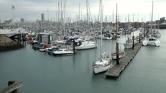 Gosport Marina Stock Footage