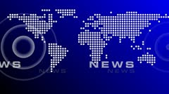News World Maps Background (4) - stock footage
