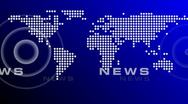 Stock Video Footage of News World Maps Background (4)