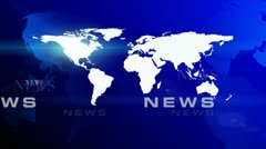 News World Maps Background (7) Stock Footage