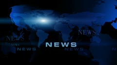 "News World Maps Background ( Color series 3 - Version from 1 to 5 )"" Think Diffe Stock Footage"