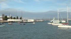 Gosport Ferry Timelapse - stock footage