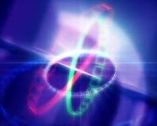 3D Abstract Chains of Glory Loop Stock Footage