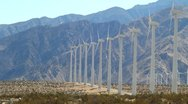 Wind Turbines 10 Stock Footage