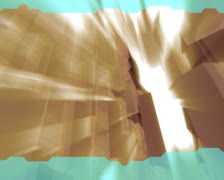 3D Abstract Busy Blocks Loop Stock Footage