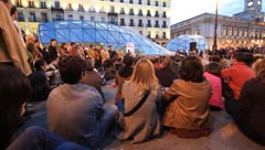 Madrid sol5 Stock Footage